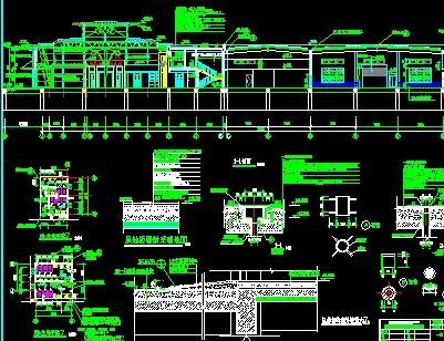 汽车4s店建筑设计图纸