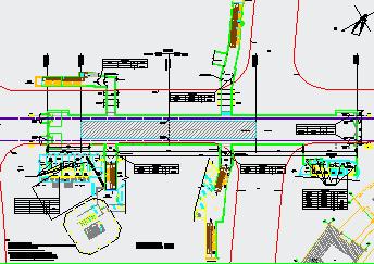地铁站装修设计图