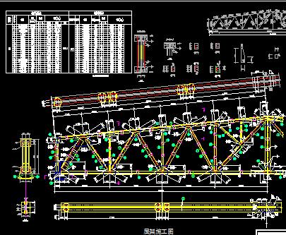 单层厂房钢结构设计图