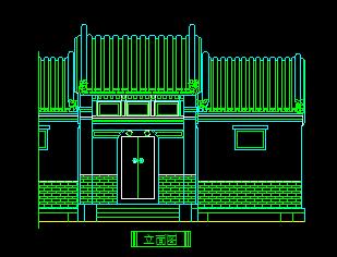 中式古典门设计详图