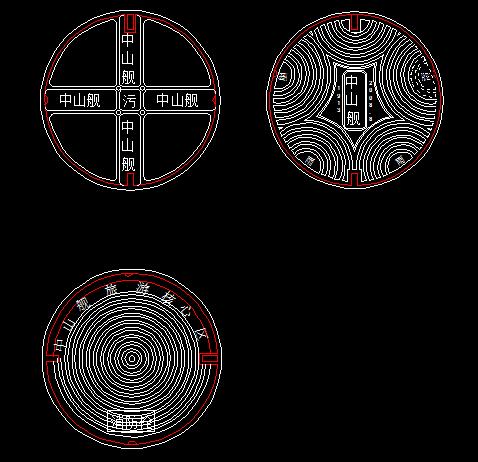 井盖样式设计图