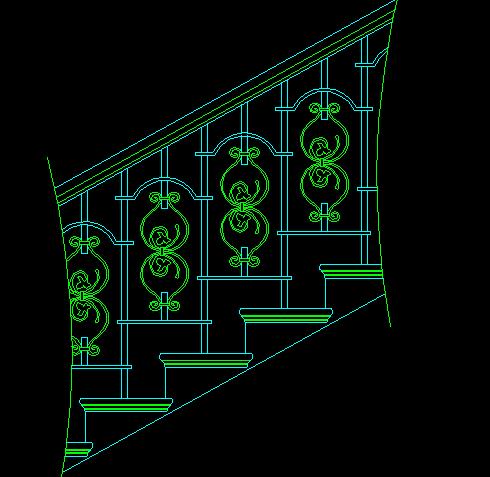 CAD详图工具栏杆图块免费下载-建筑常用、图把CAD层图扶手工具栏建图片