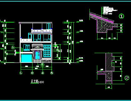 农村自建房建筑设计图纸