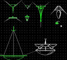 灯具设计图块汇总