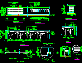 餐厅总服务台设计详图