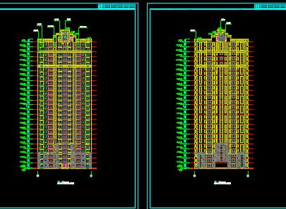 27层住宅楼建筑施工图纸