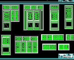 四合院门窗设计详图