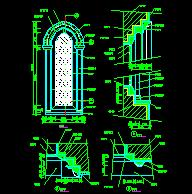 西式窗设计图块