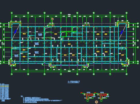 大型综合医院结构施工图纸
