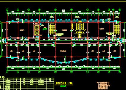 办公楼建筑平面图