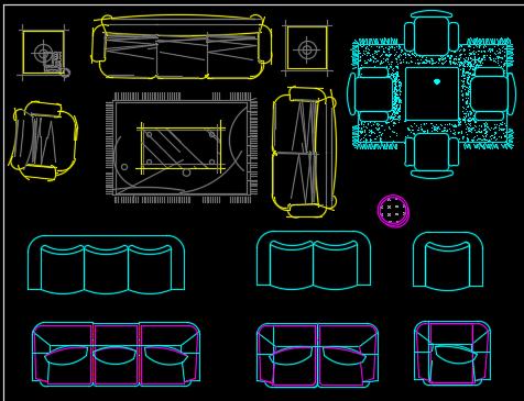 CAD图块