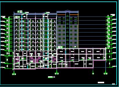 某小区住宅楼建筑施工图纸