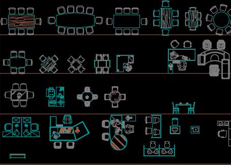 CAD室内装饰图块