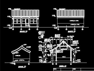 四合院建筑施工图纸