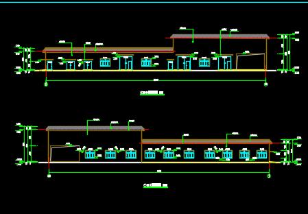 工业园污水处理厂施工图纸(含建筑、结构、电气、给排水)