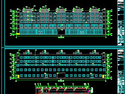某5层办公楼建筑施工图纸