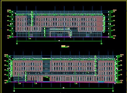 五层办公楼建筑施工图纸