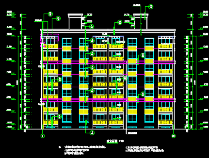 某小区住宅楼建筑设计图纸