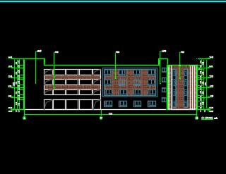 四层教学综合楼建筑施工图纸