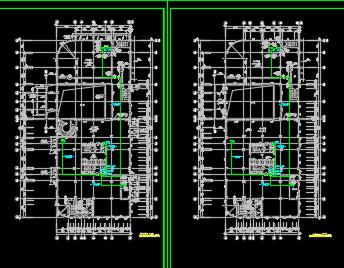 住宅楼BAS系统图纸