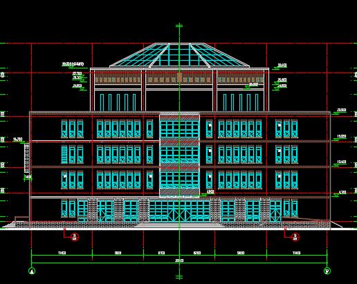 实验学校建设项目艺术综合楼设计图纸