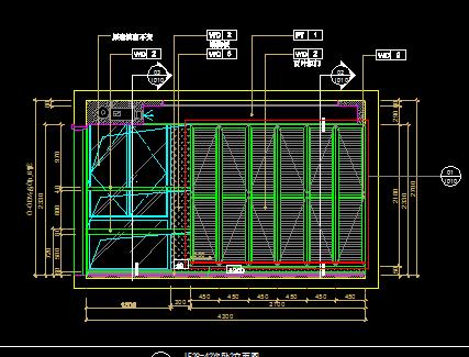 豪宅样板别墅室内设计施工图纸(含效果图)