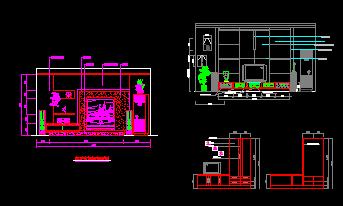 室内装修施工设计CAD图集