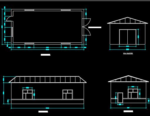 100平方米库房设计图纸