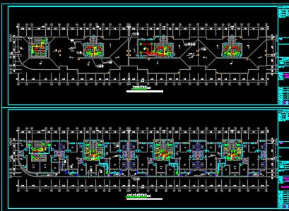 十二层安置房电气设计图纸