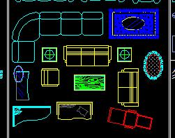 CAD综合家具图库