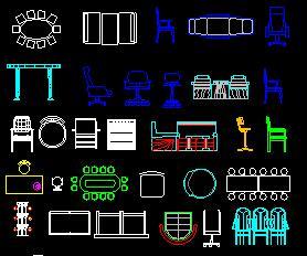CAD常�家具�D��