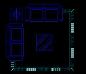 沙发家具CAD图库