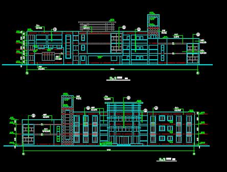 三层幼儿园建筑设计图纸