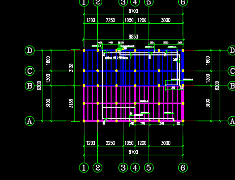 装配式北美轻型木屋施工图纸