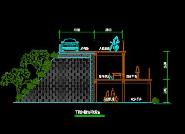 景观木栈道设计详图