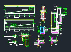 48套台阶坡道构造建筑详图