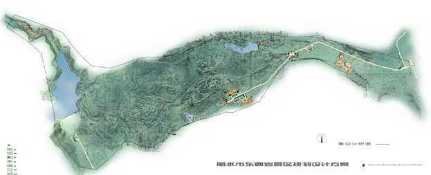 丽水市东西岩景区规划设计方案