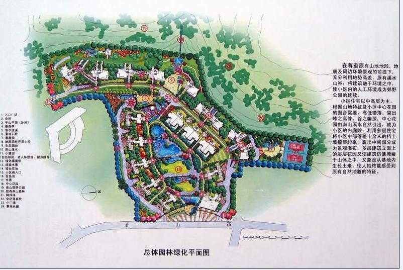 邹平新民片区规划图
