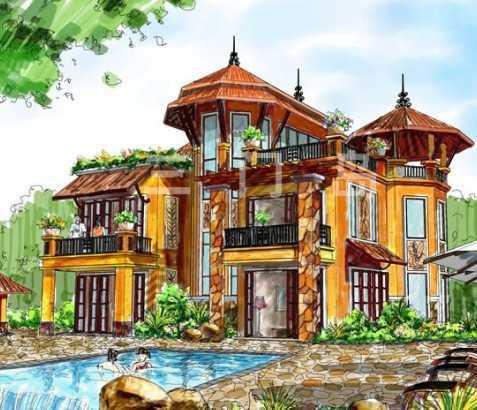 独栋别墅设计图