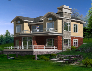 农村自建房别墅设计效果图