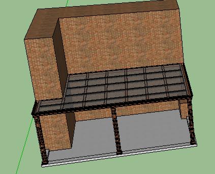 阳光房SketchUp模型