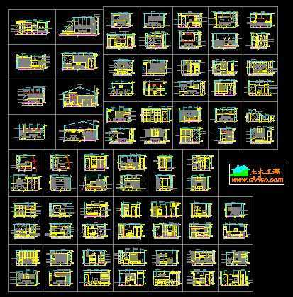 43个主人房及卧室立面装修方案图集