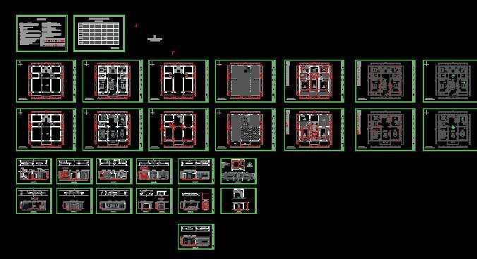 建筑装饰工程施工图纸
