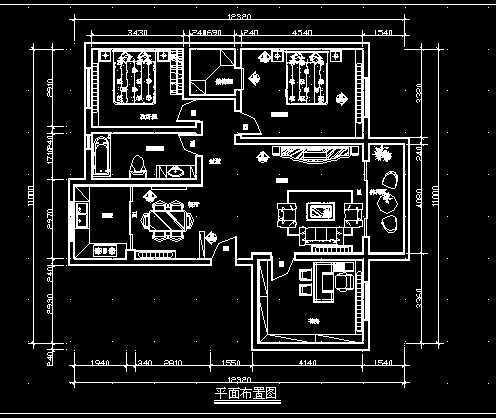 家庭装修施工图1