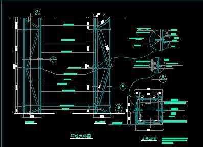 平面图的柱子怎么画
