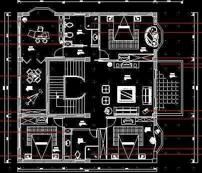 室内装修设计图纸免费下载 - 建筑装修图 - 土木工程网