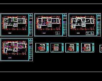 100平米住宅装修设计图