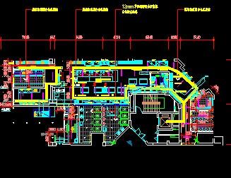 某餐厅电路施工图免费下载 - 电气图纸 - 土木工程网