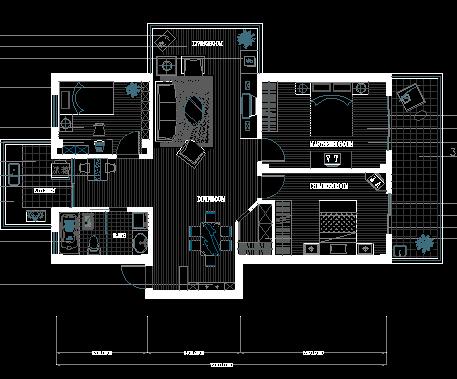 某住宅楼装修设计图纸