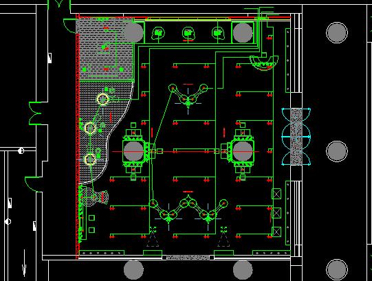 某3G品牌店建筑装修图(含实景图)